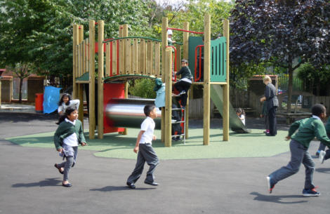 Junior Play Equipment installed by the GymFix Team in East London